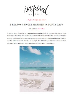 Punta Cana Resort and Club InspiredByThis 11-28-17