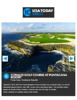 Corales Golf Course – USA Today's 10Best