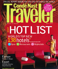 Conde Nast Hot List Spa